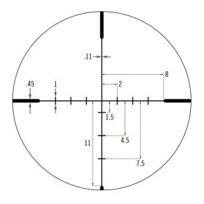 Vortex Crossfire II 4-16x50 AO With Dead-Hold BDC Reticle MOA Rifle Scope