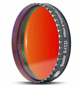 "Baader Red CCD 2"" Telescope Filter with LPFC"