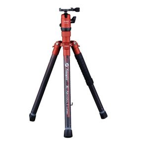 Fotopro X-Aircross 1 Carbon Fiber Professional Tripod - Orange