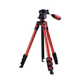 Fotopro S3 Lite Aluminium Travel Tripod - Red