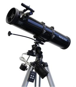 Saxon Velocity 130/900 EQ2 Reflector Telescope with MD System
