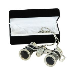 Saxon 3x25 Black Opera Glasses (Gift Box)