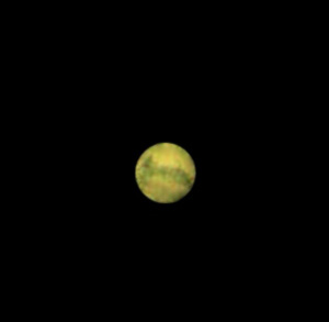 View of Mars with a 90mm aperture
